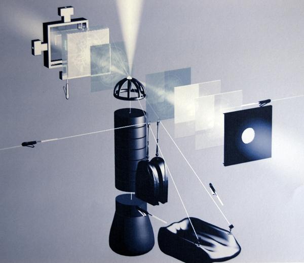 Camera Obscura, Der Weg des Lichtkeimes