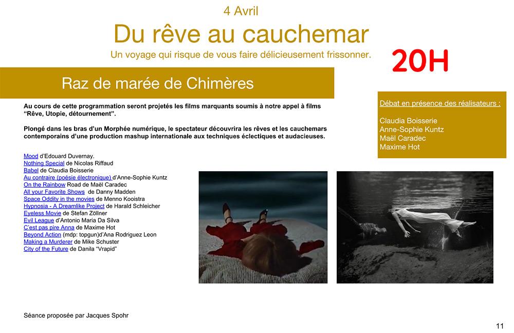 Stefan Zoellner eyeless movie mashup festival Paris