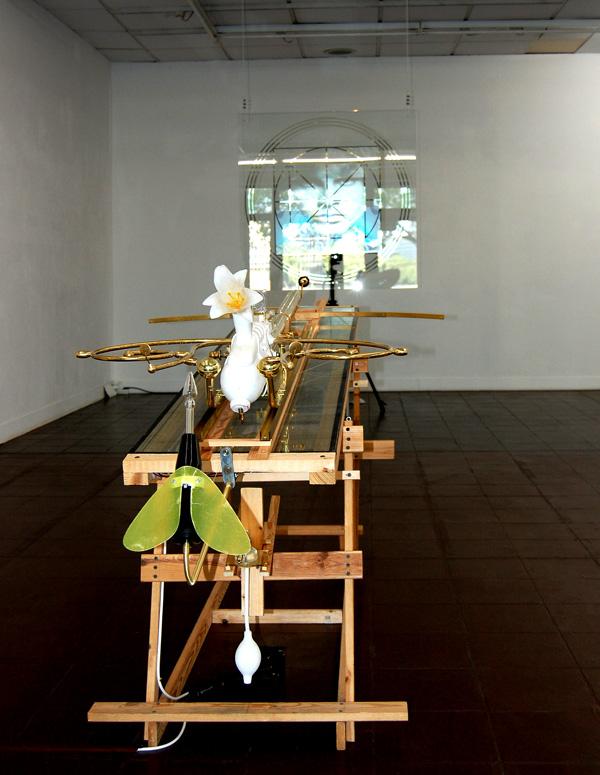 AION, Omegasimulator, Stefan Zoellner im BBK Koeln, 2011
