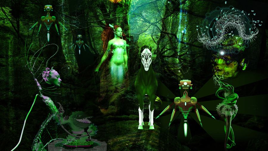 Stefan Zoellner abyssal forest spirit