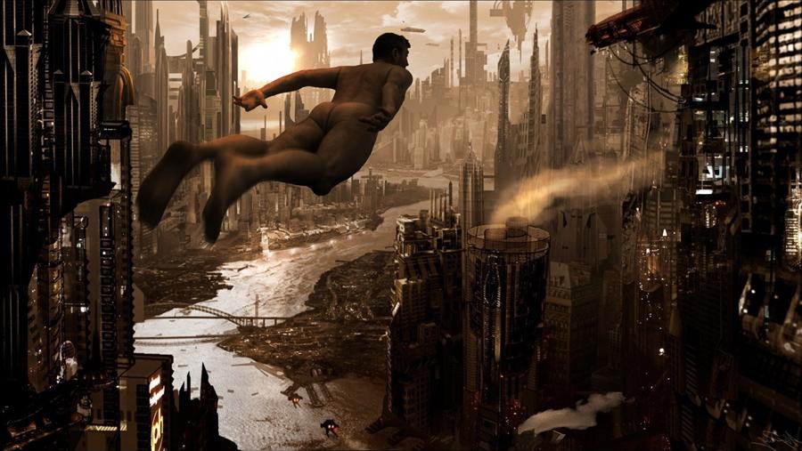 Stefan Zoellner Oneironaut dystopic city